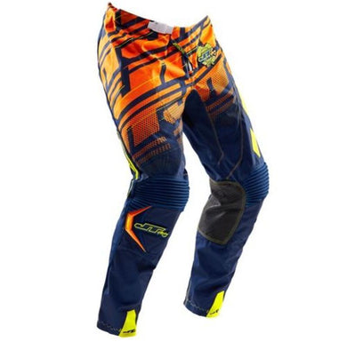 Hyperlite Echo Pants Navy-Orange-Chartreuse Riding Pant Trusport 32