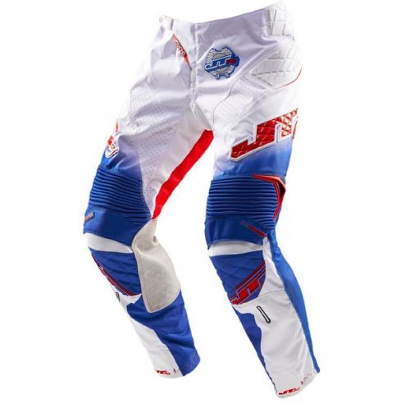 Protek V Pant White-Red-Blue