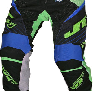 Protek Subframe Pants Black-Blue-Green Riding Pant Trusport 32