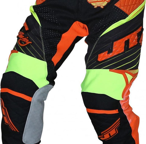 Protek Subframe Pants Black-Orange-Yellow