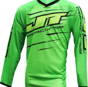 Flex Slasher Jersey Green/Black Riding Jersey Trusport XL