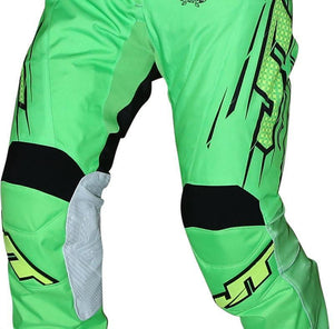Flex Slasher Pants Green/Black Riding Pant Trusport 30