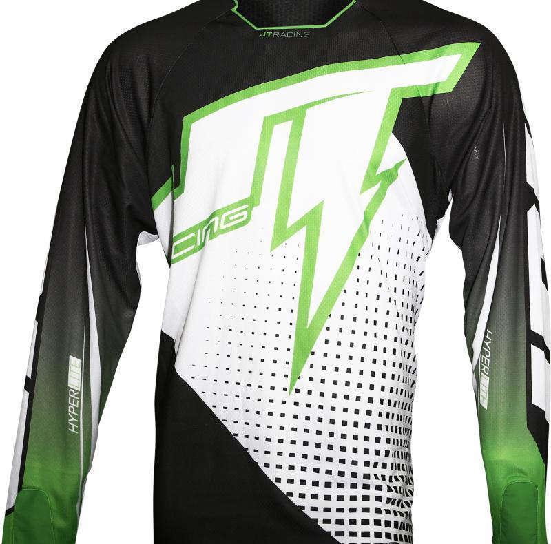 Hyperlite Voltage Jersey Black/Green