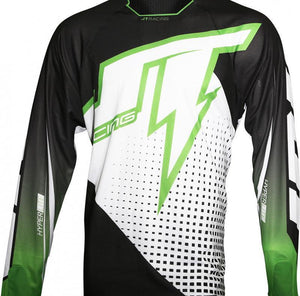 Hyperlite Voltage Jersey Black/Green Riding Jersey Trusport M