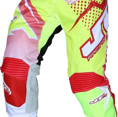 Youth Voltage Pants Red/Yellow Youth Riding Pant Trusport 26