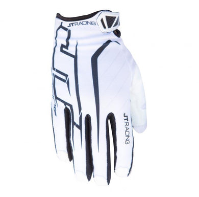 Youth Lite Turbo Glove White/Black Gloves Trusport S