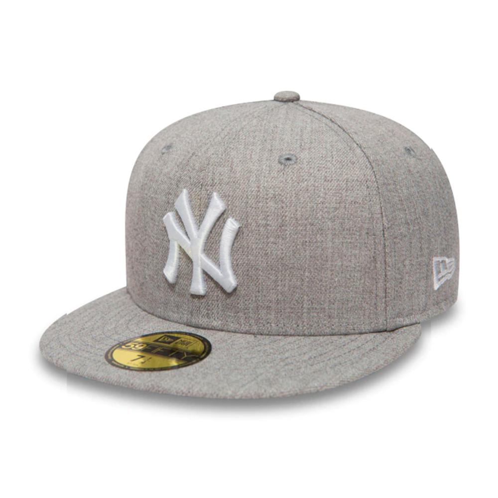 New Era - NY Yankees 59Fifty Essential - Fitted - Heather Grey