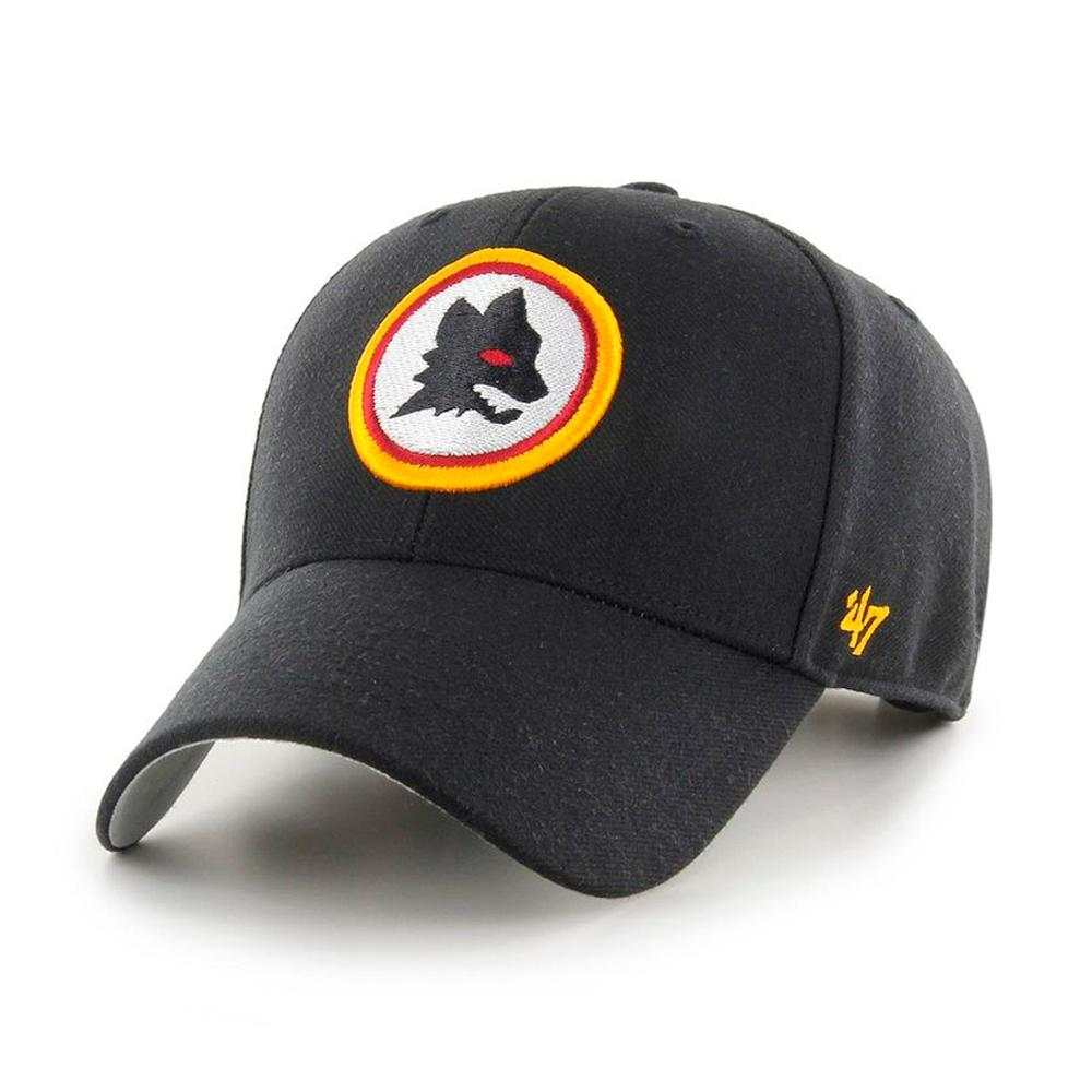 47 Brand - AS Roma MVP Sure Shot - Snapback - Black