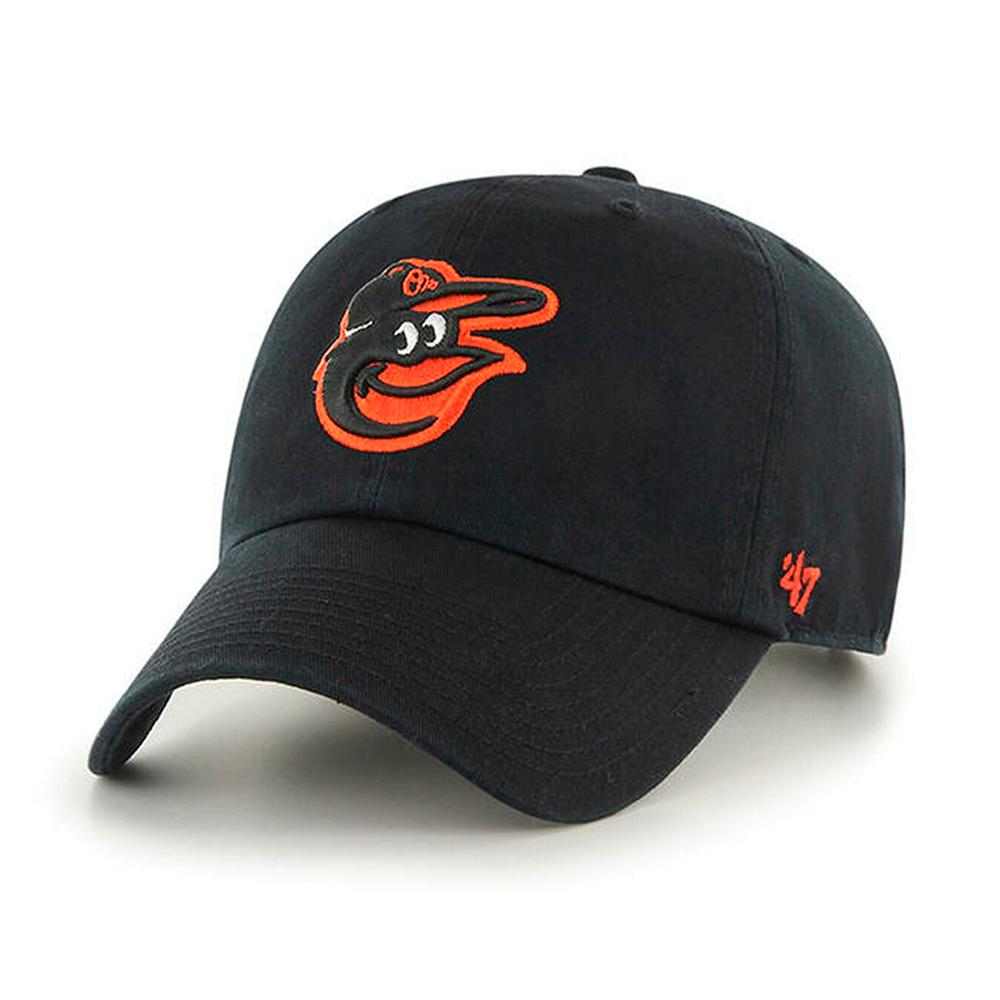 47 Brand - Baltimore Orioles Clean Up - Adjustable - Black/Orange