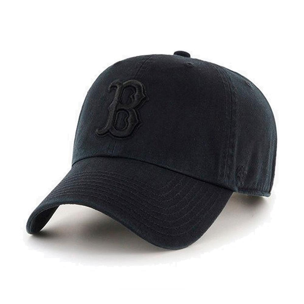 47 Brand - Boston Red Sox Clean Up - Adjustable - Black/Black