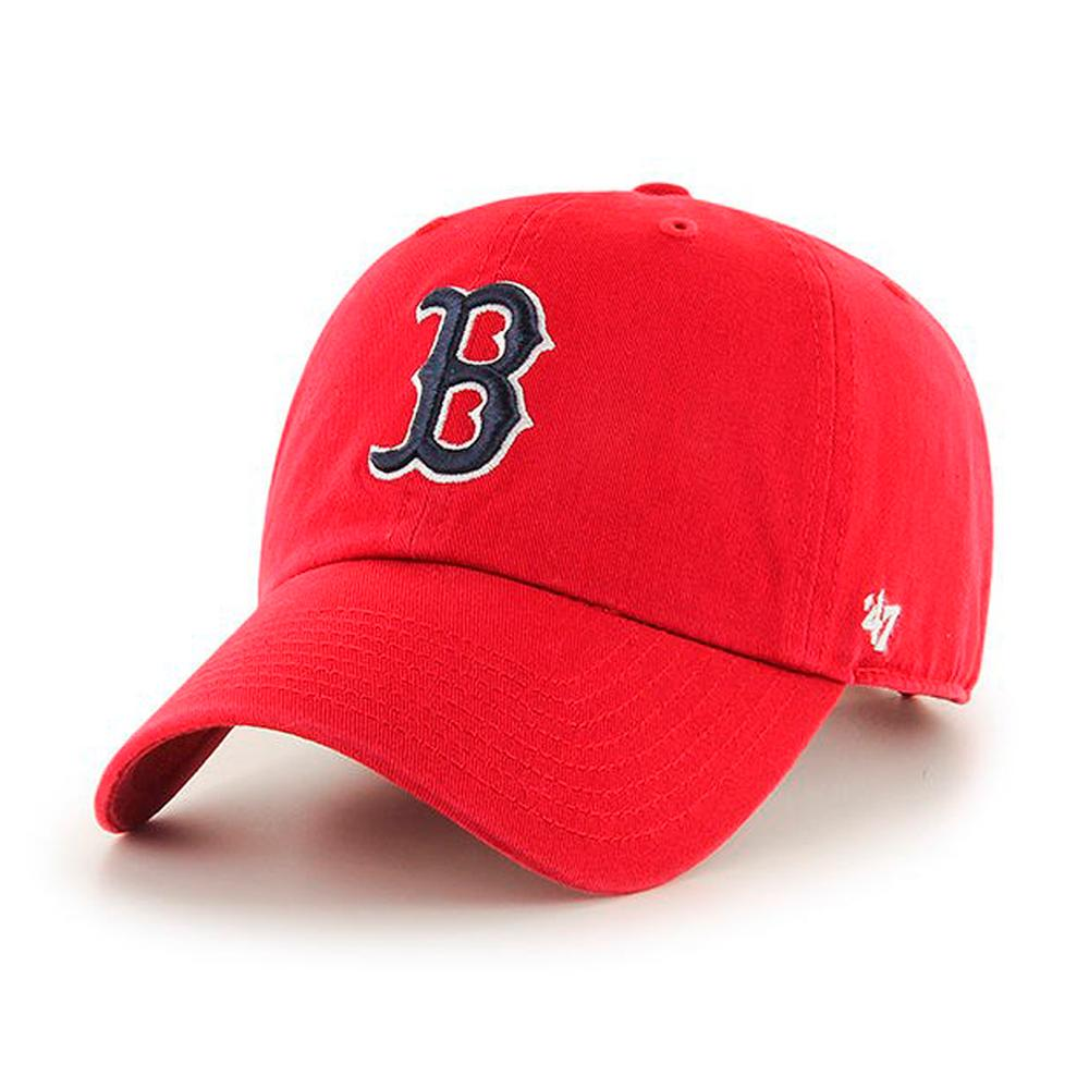 47 Brand - Boston Red Sox Clean Up - Adjustable - Red