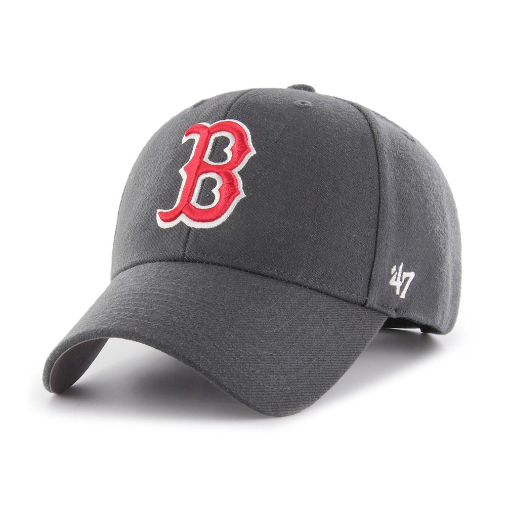 47 Brand - Boston Red Sox MVP - Adjustable - Charcoal/Red
