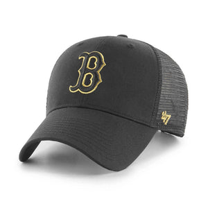 47 Brand - Boston Red Sox MVP Branson Metalic - Trucker/Snapback - Black