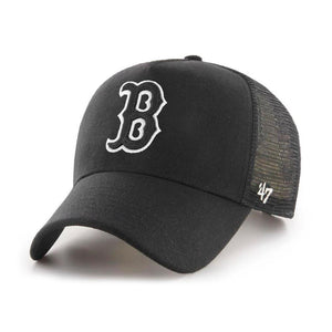 47 Brand - Boston Red Sox MVP DP Cold Zone - Trucker/Snapback - Black/Black