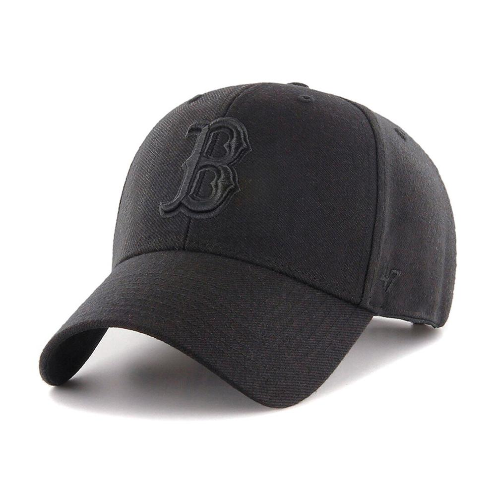 47 Brand - Boston Red Sox MVP - Snapback - Black/Black