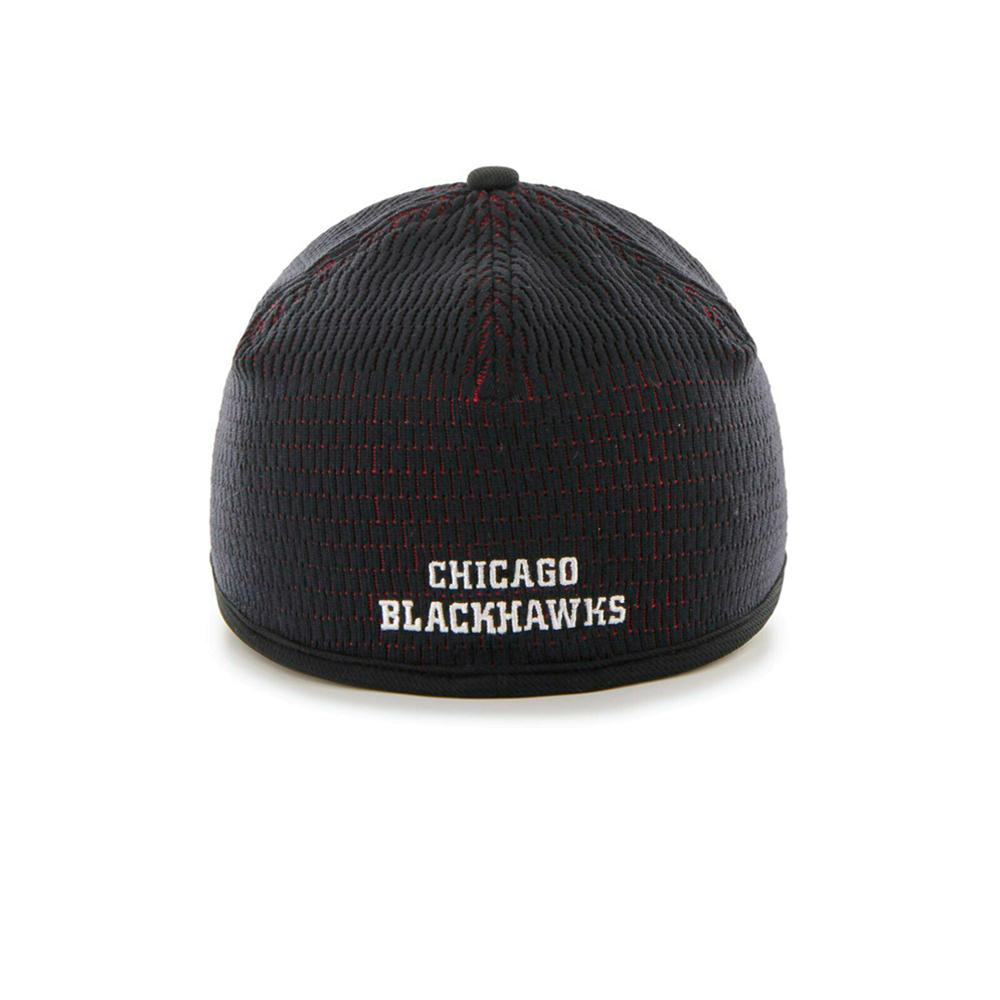 47 Brand - Chicago Blackhawks Closer - Trucker Stretch Fit - Black