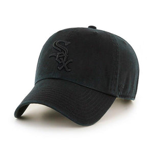 47 Brand - Chicago White Sox Clean Up - Adjustable - Black/Black