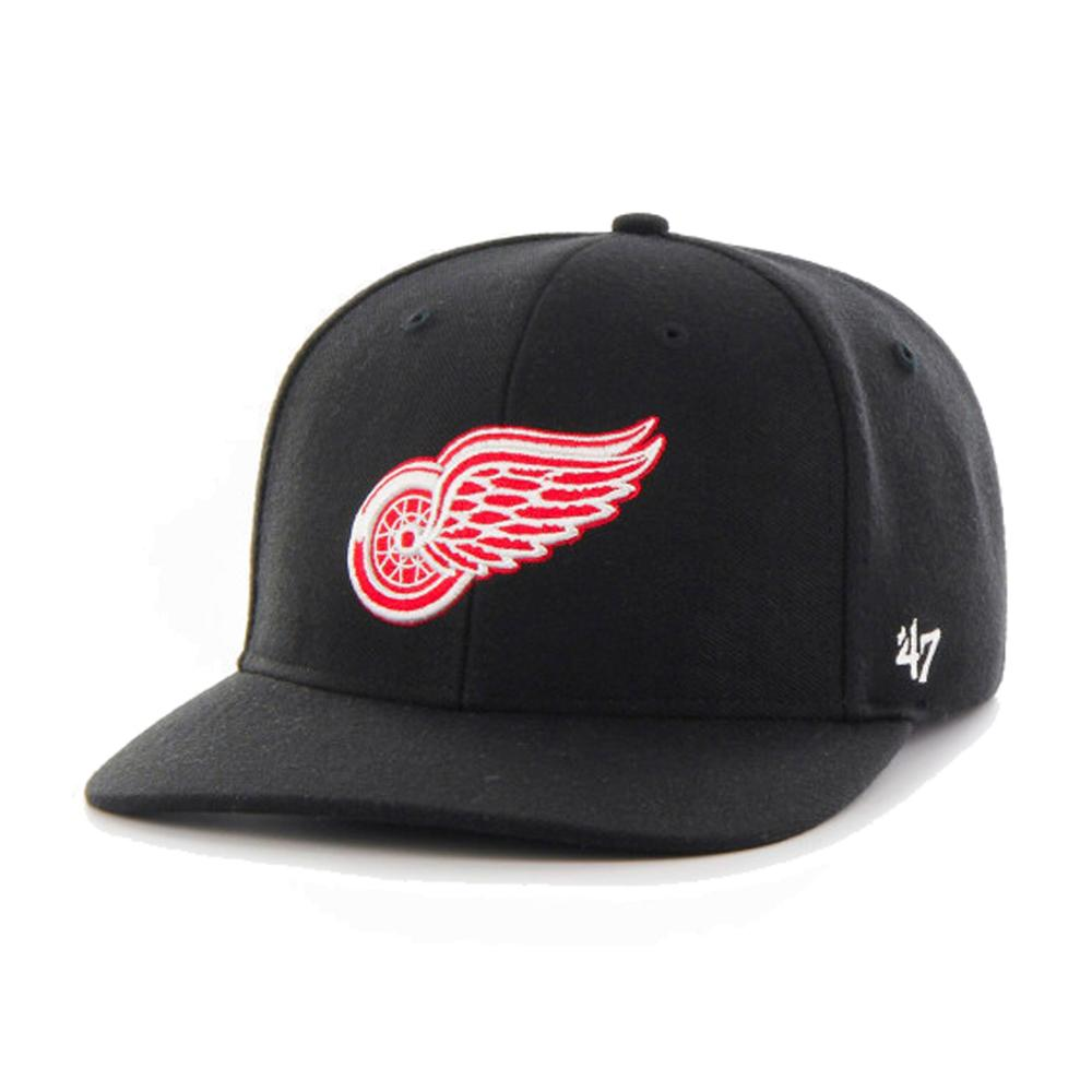 47 Brand - Detroit Red Wings Contender - Flexfit - Black