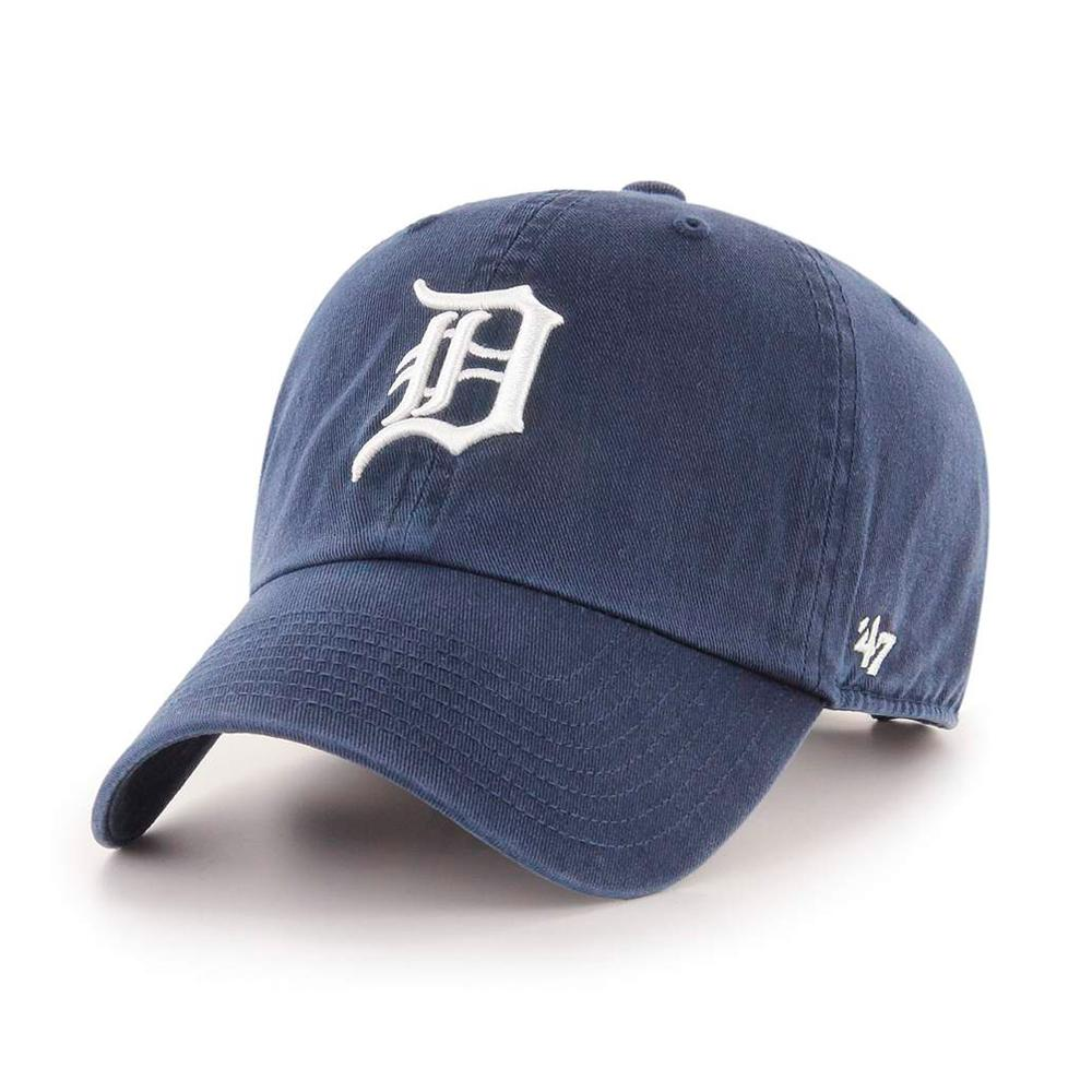 47 Brand - Detroit Tigers Clean Up - Adjustable - Navy