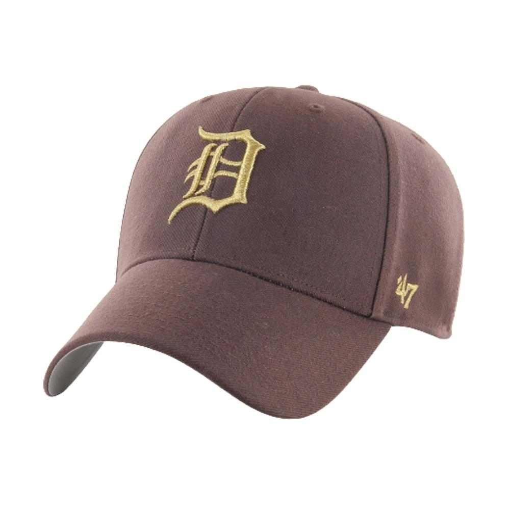 47 Brand - Detroit Tigers MVP Metallic - Snapback - Brown/Gold