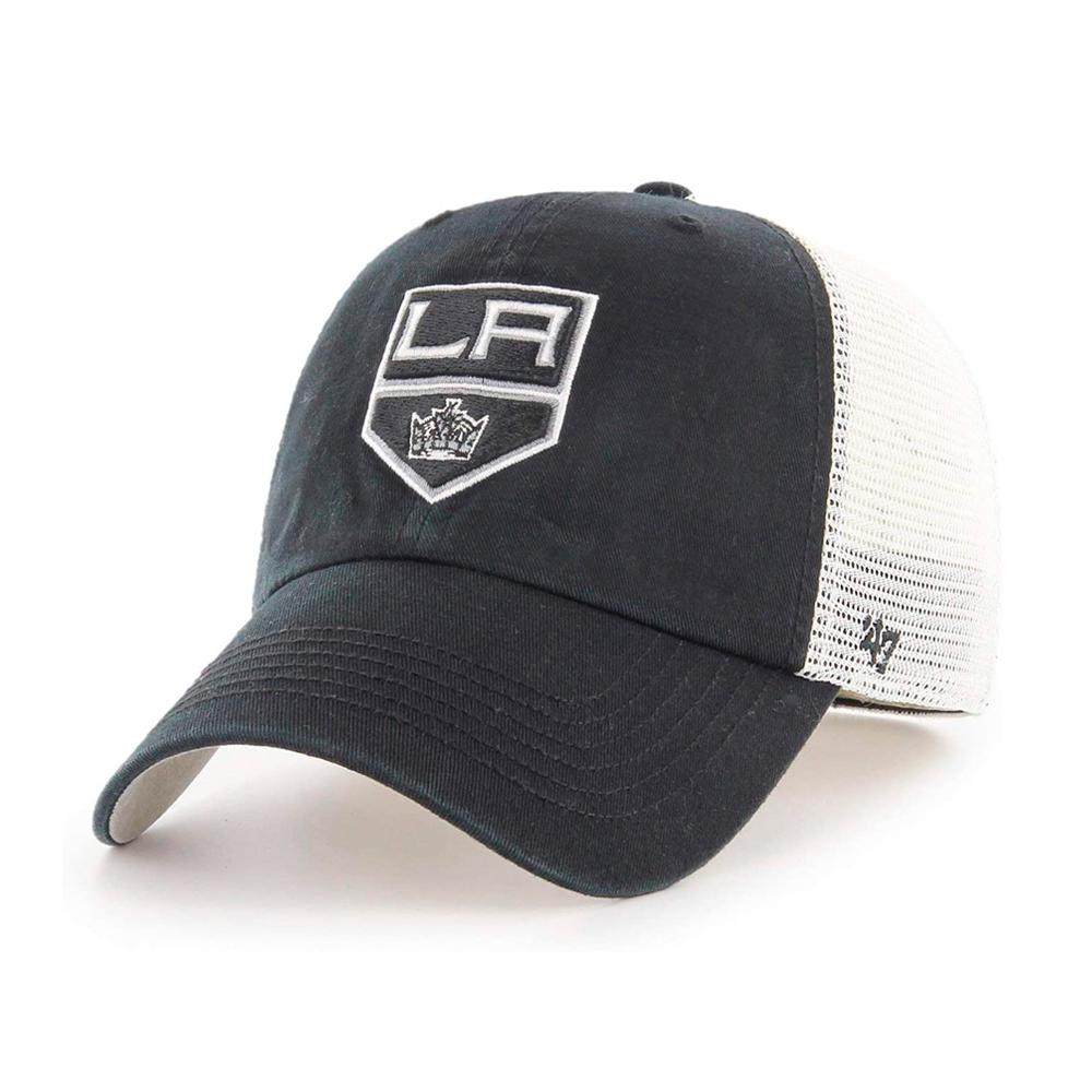 47 Brand - La Kings Closer - Trucker Stretch Fit - Black/White