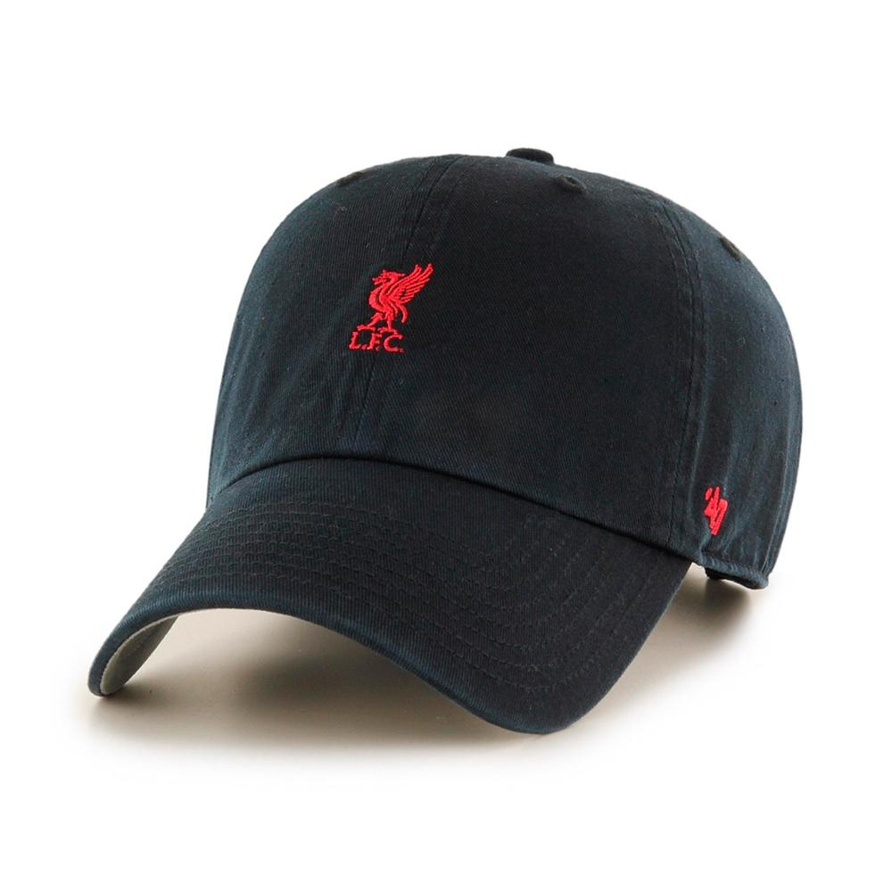 47 Brand - Liverpool FC Base Runner Clean Up - Adjustable - Black