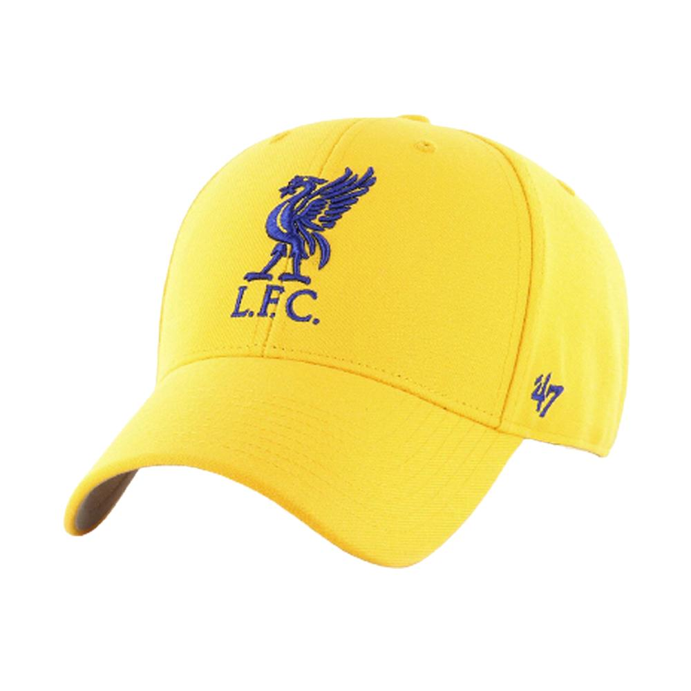 47 Brand - Liverpool FC Sweden MVP - Adjustable - Blue/Yellow