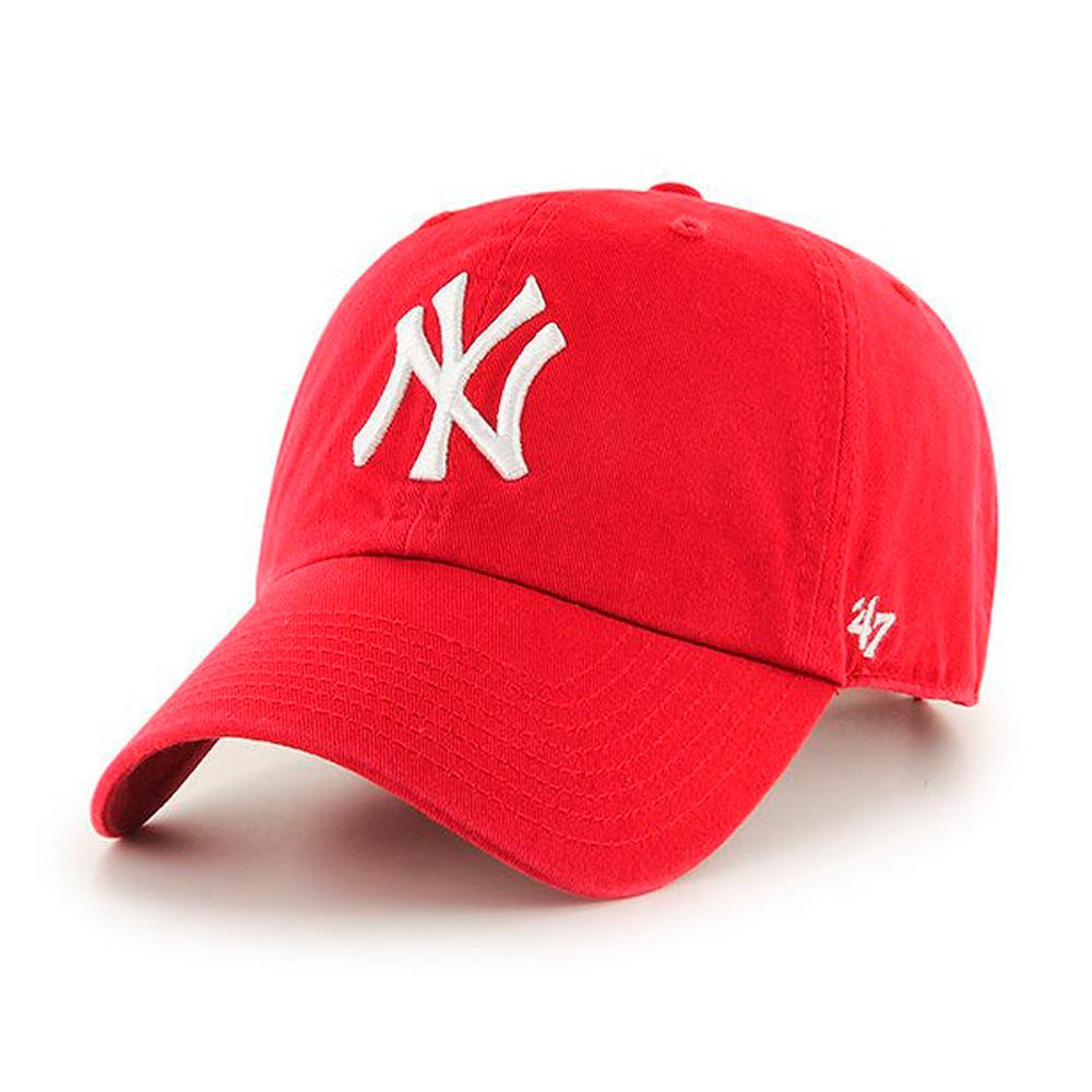 47 Brand - NY Yankees Clean Up - Adjustable - Red