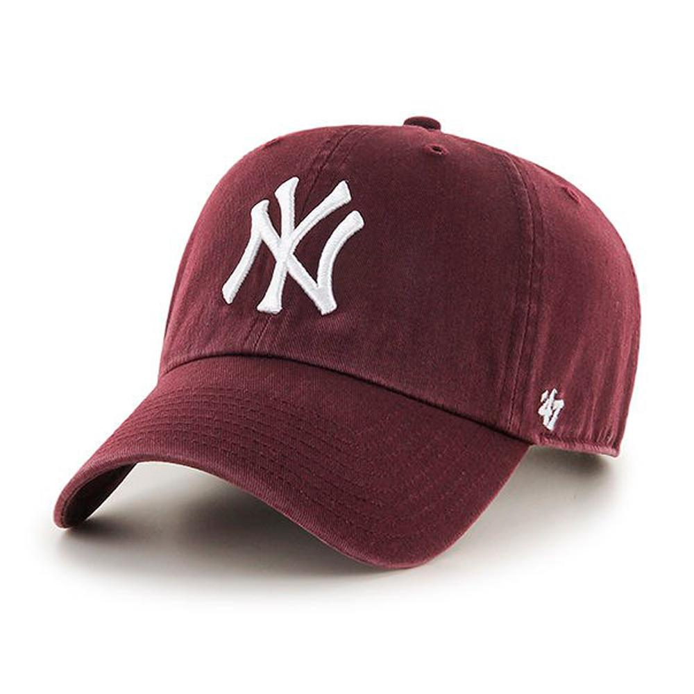 47 Brand - NY Yankees Clean up - Adjustable - Maroon