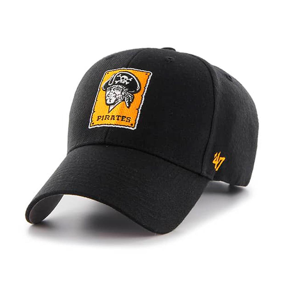 47 Brand - Pittsburgh Pirates MVP - Adjustable - Black