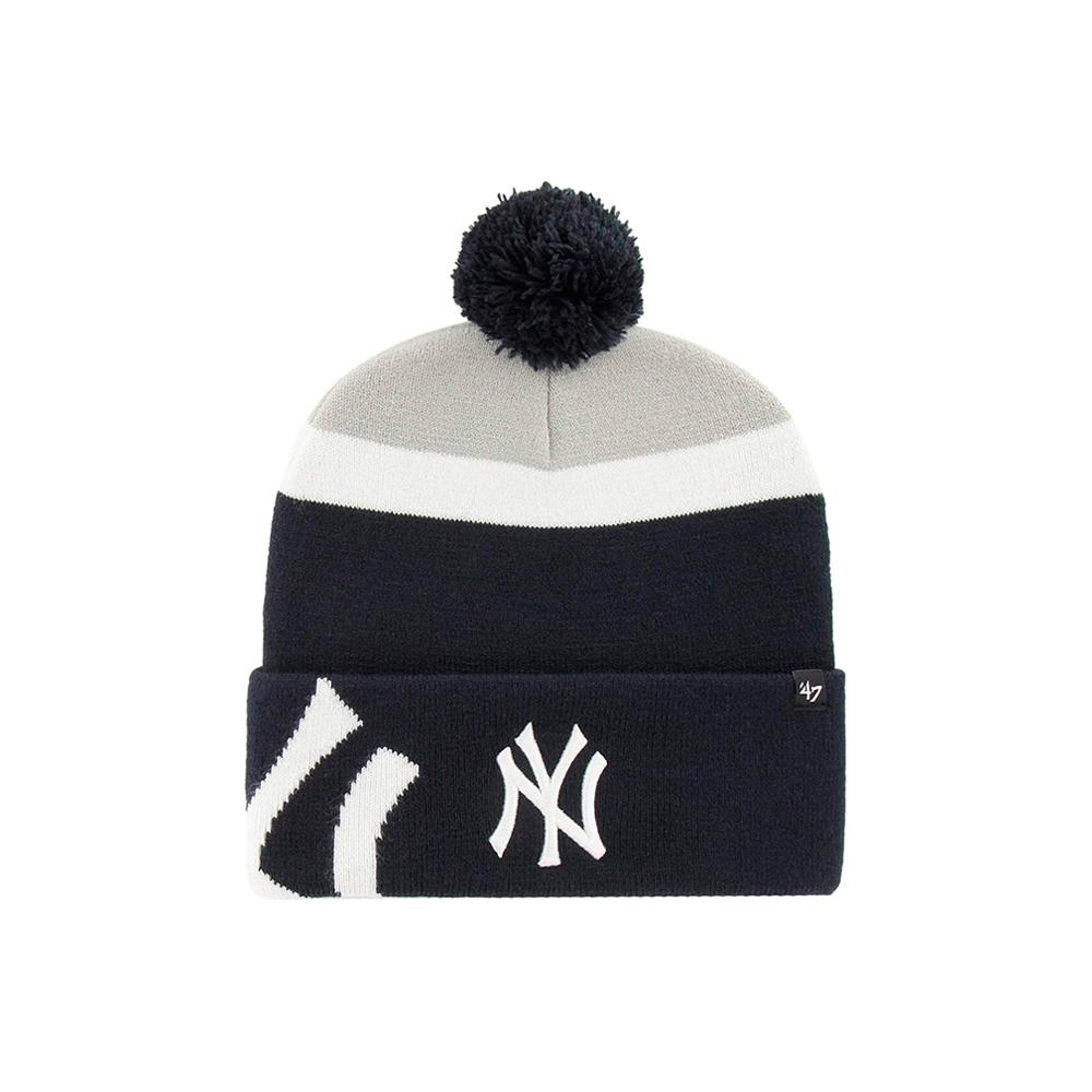 47 Brand - NY Yankees Mokema - Beanie - Navy/Grey/White