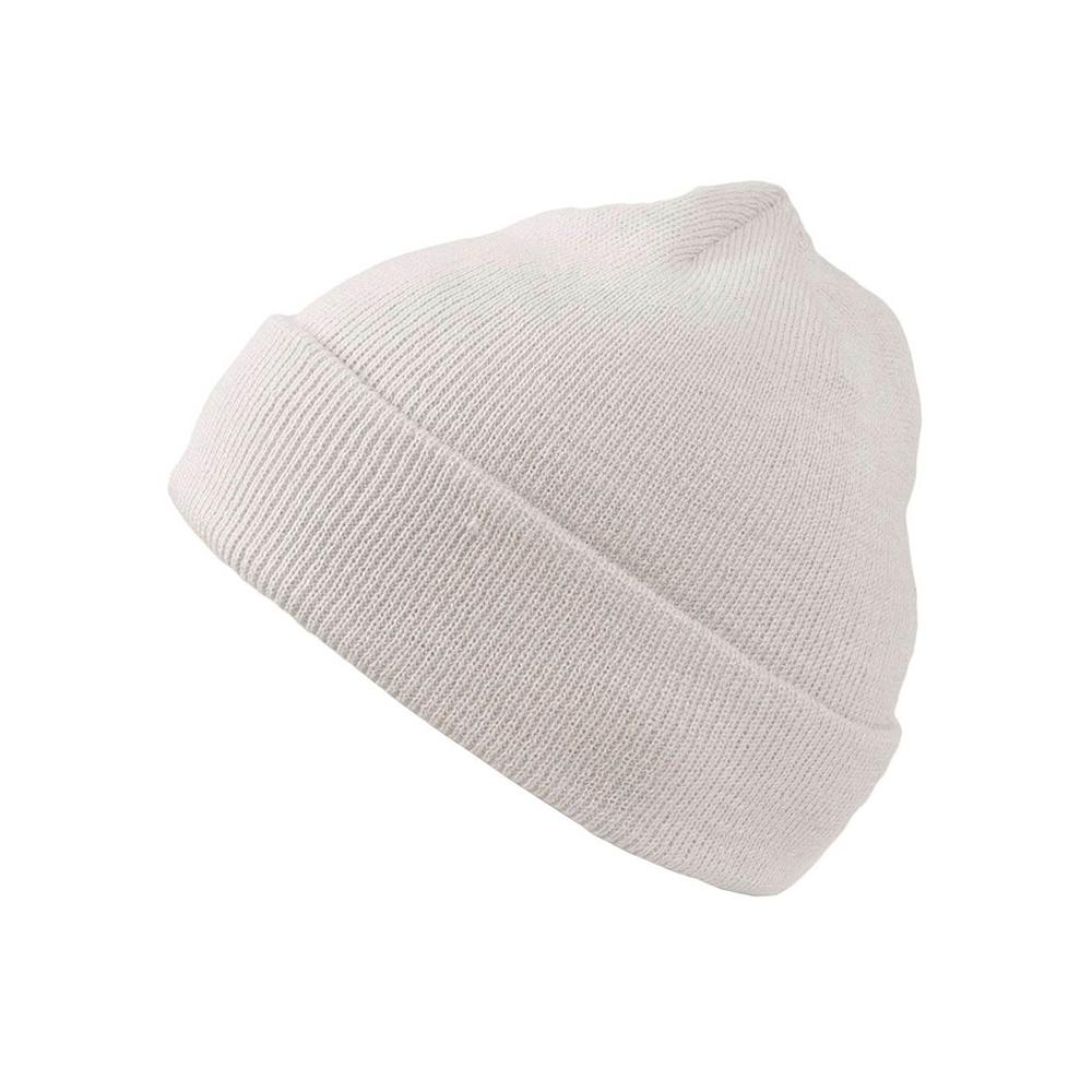Atlantis - Fold Up - Beanie - White