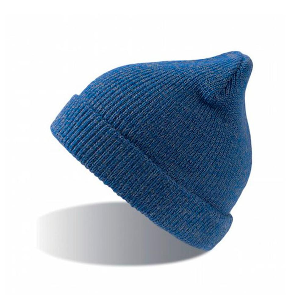 Atlantis - Fold Up Melange - Beanie - Blue