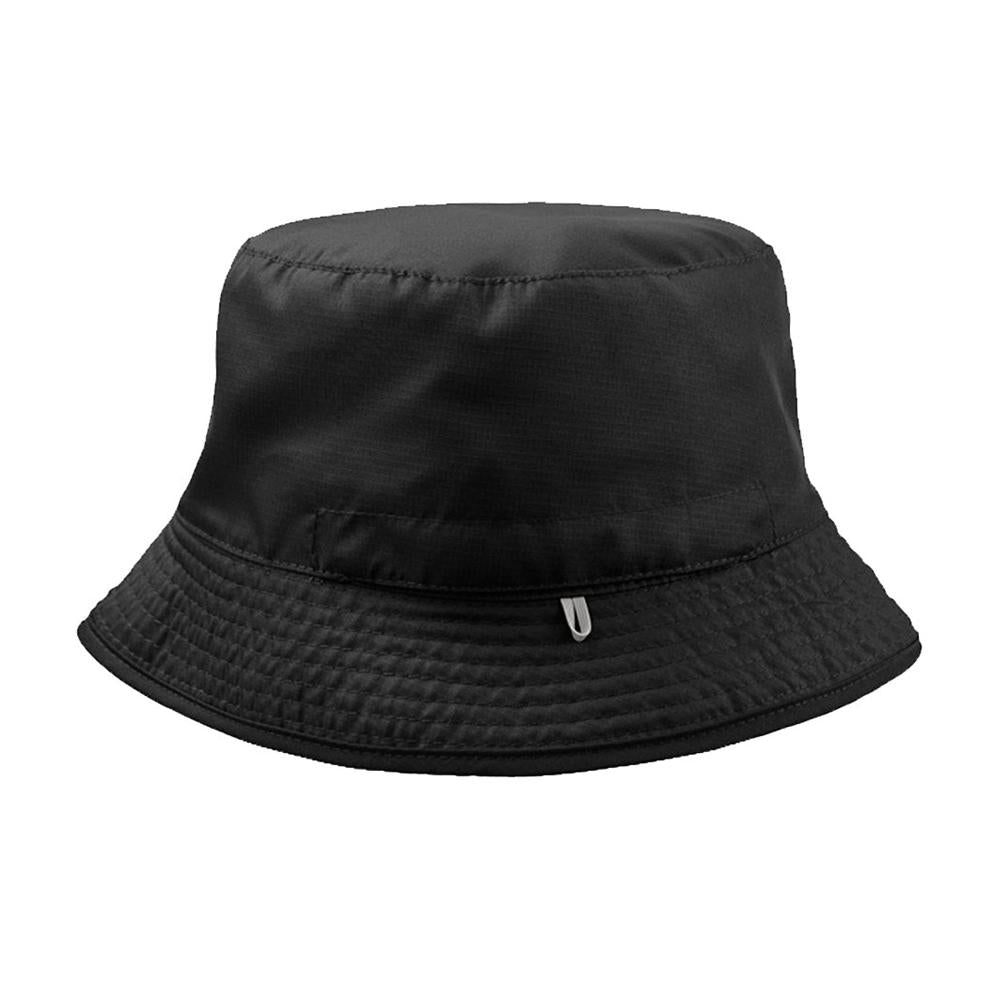 Atlantis - Pocket 2 Colored - Bucket Hat - Black/Grey