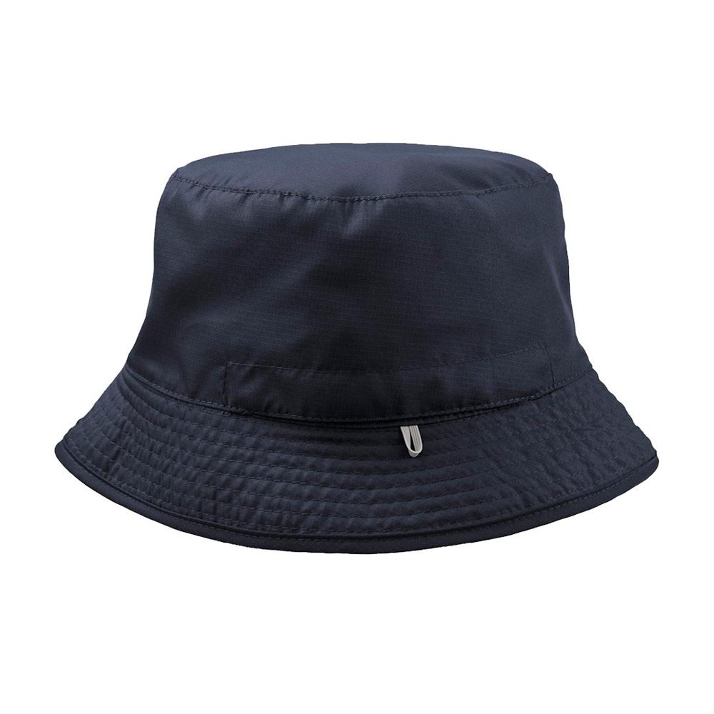 Atlantis - Pocket 2 Colored - Bucket Hat - Navy/Grey