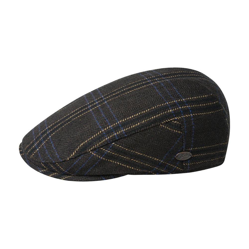 Bailey - Byram - Sixpence/Flat Cap - Brown Stripe