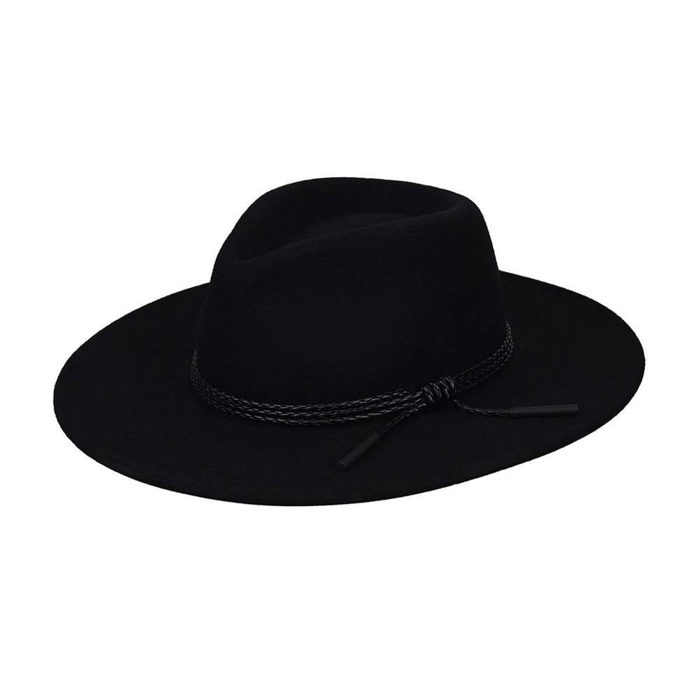 Bailey - Piston - Fedora Hat - Black