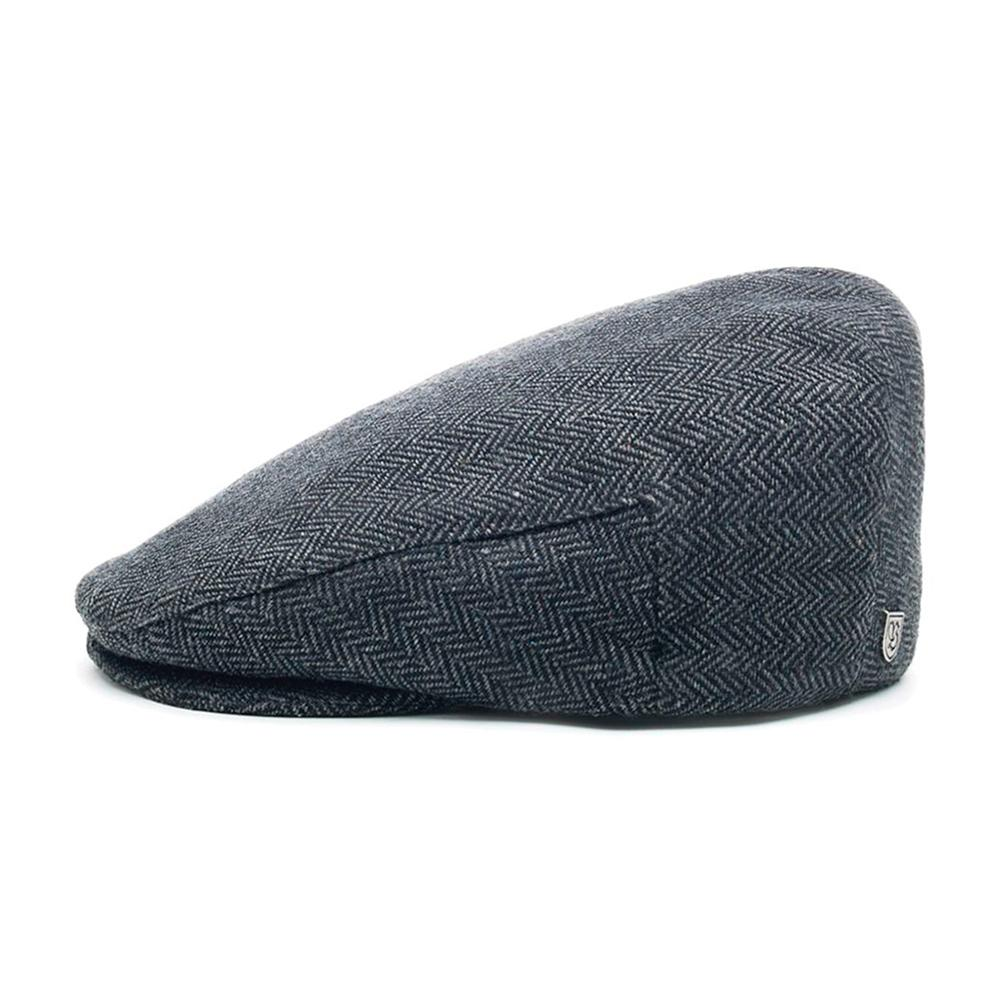 Brixton - Hooligan Snap Cap - Flat Cap - Grey/Black