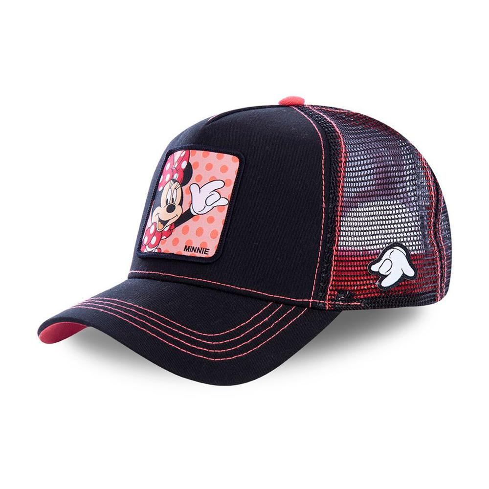 Capslab - Minnie - Trucker/Snapback - Black/Pink