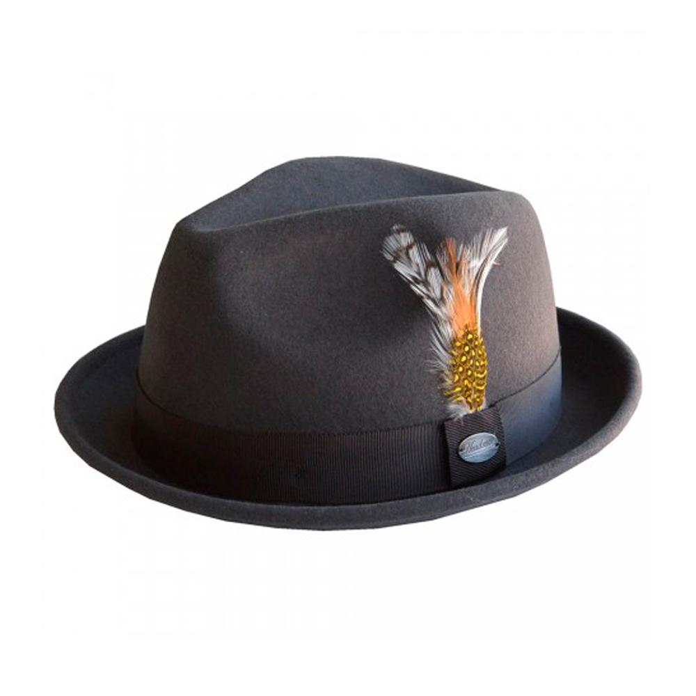 City Sport - Alfredo - Fedora Hat - Olive Grey