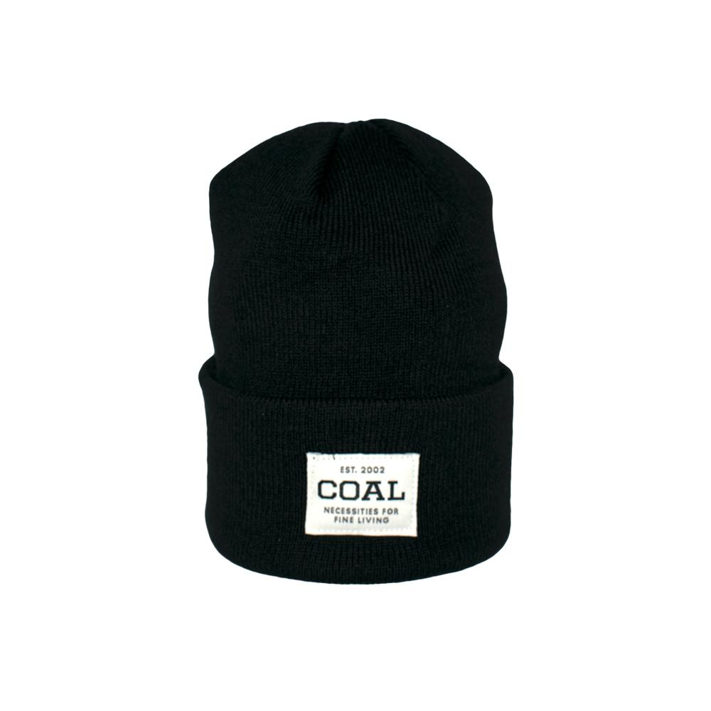 Coal - The Uniform - Fold Up Beanie - Solid Black