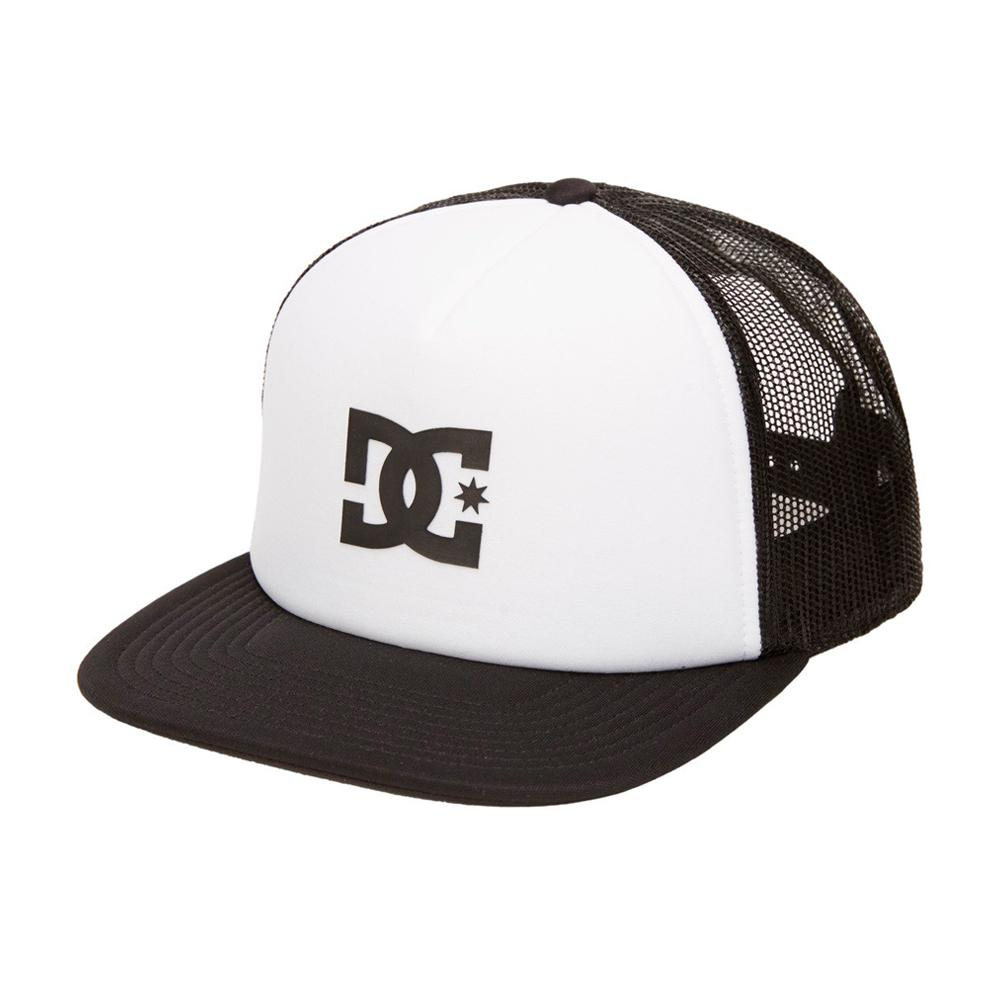 DC - Gas Station - Trucker/Snapback - White/Black