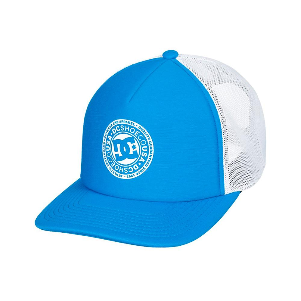 DC - Vested Up - Trucker/Snapback - Brilliant Blue