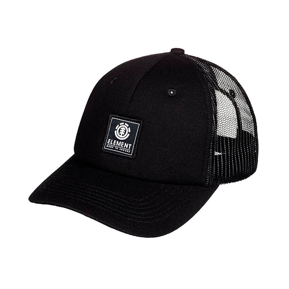 Element - Icon Mesh - Trucker/Snapback - Black/Black