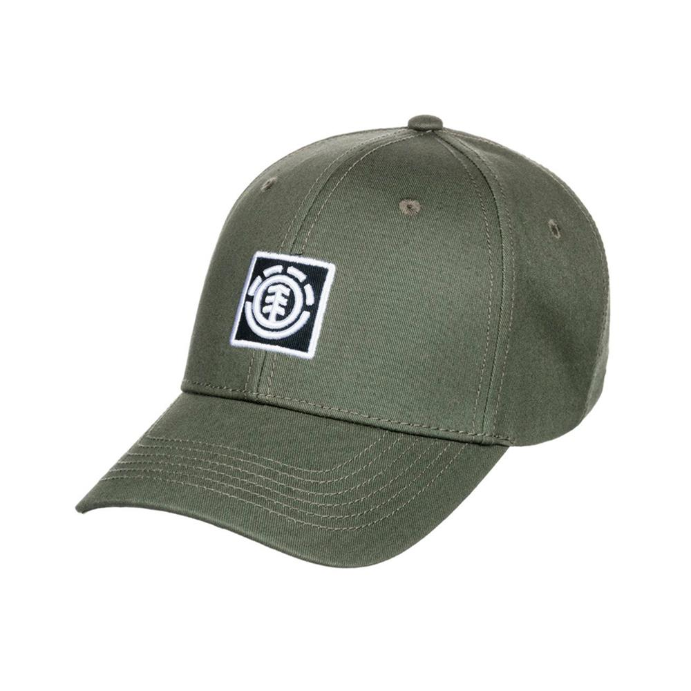 Element - Treelogo Cap - Snapback - Army Green
