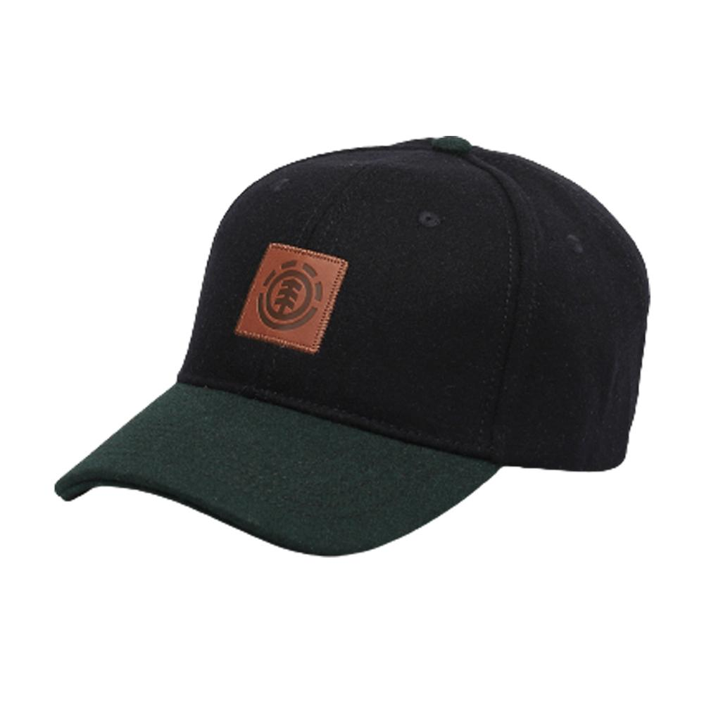 Element - Treelogo Cap - Snapback - Eclipse Heather/Green