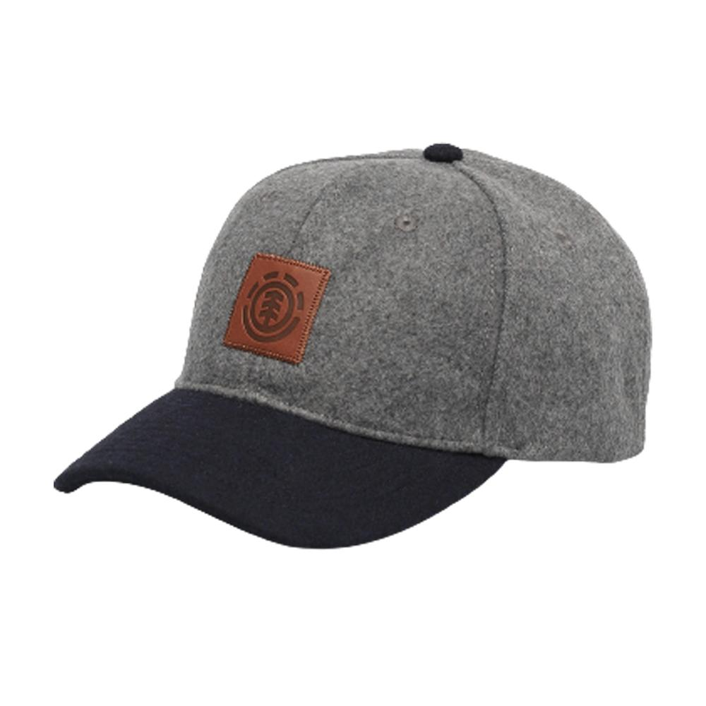 Element - Treelogo Cap - Snapback - Grey Heather/Navy