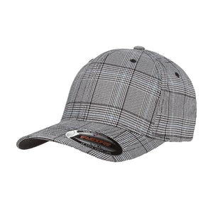 Flexfit - Baseball Check - Flexfit - Black/White