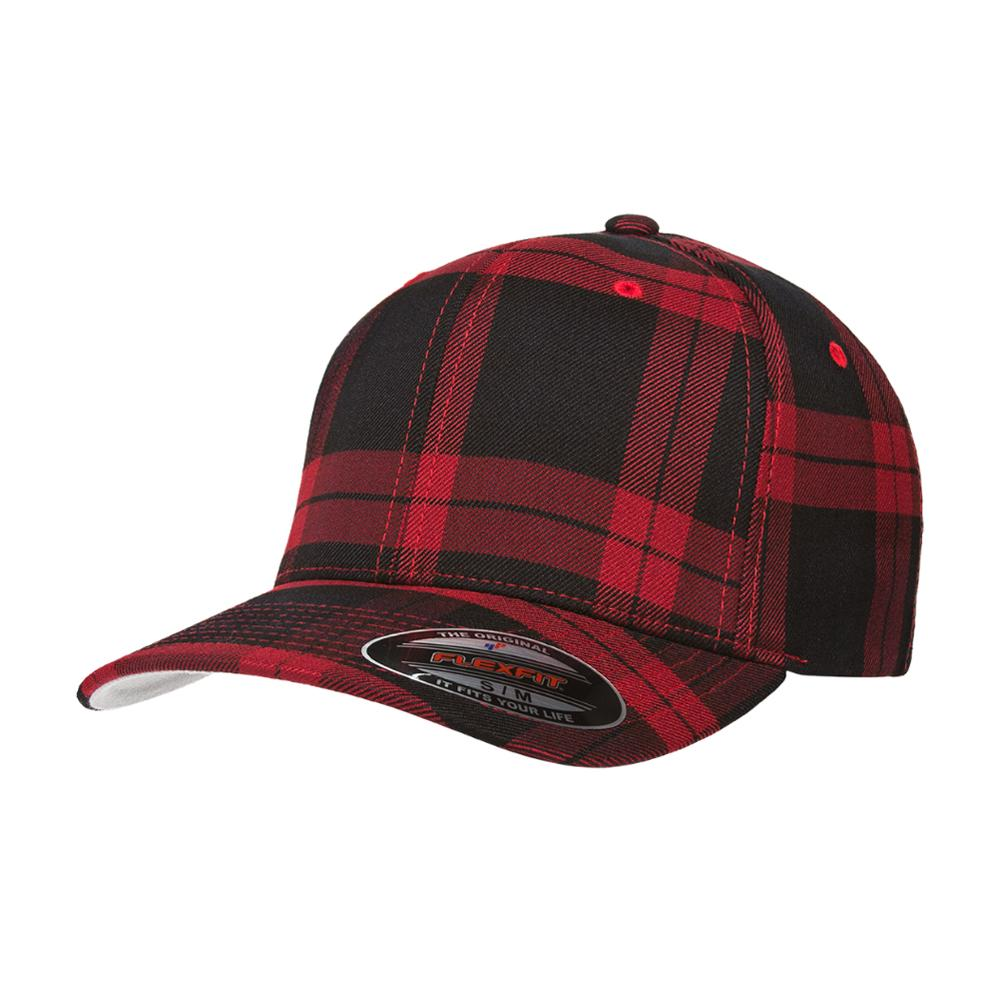Flexfit - Baseball Check - Flexfit - Red