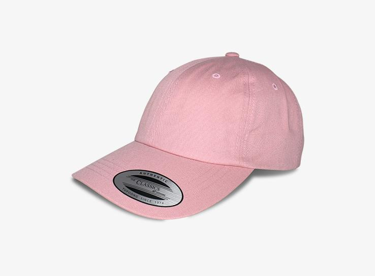 Yupoong - Dad Cap - Adjustable - Pink